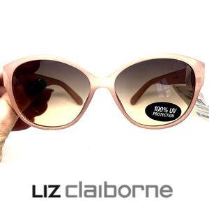 Liz Claiborne Blush Pink Women's Sunglasses.